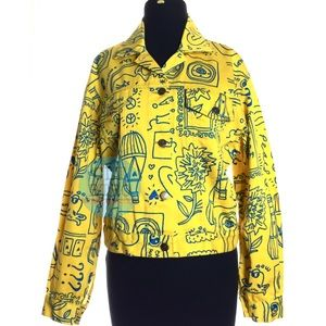 Moschino Jeans Graffiti Jacket